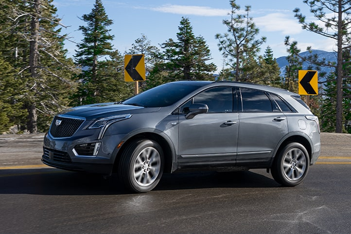 Suspensión ride and handling de Cadillac XT5 2021, crossover de lujo